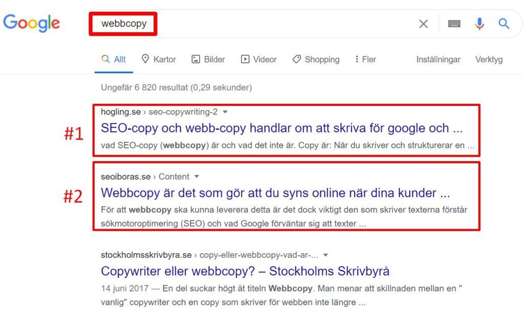 Webbcopy